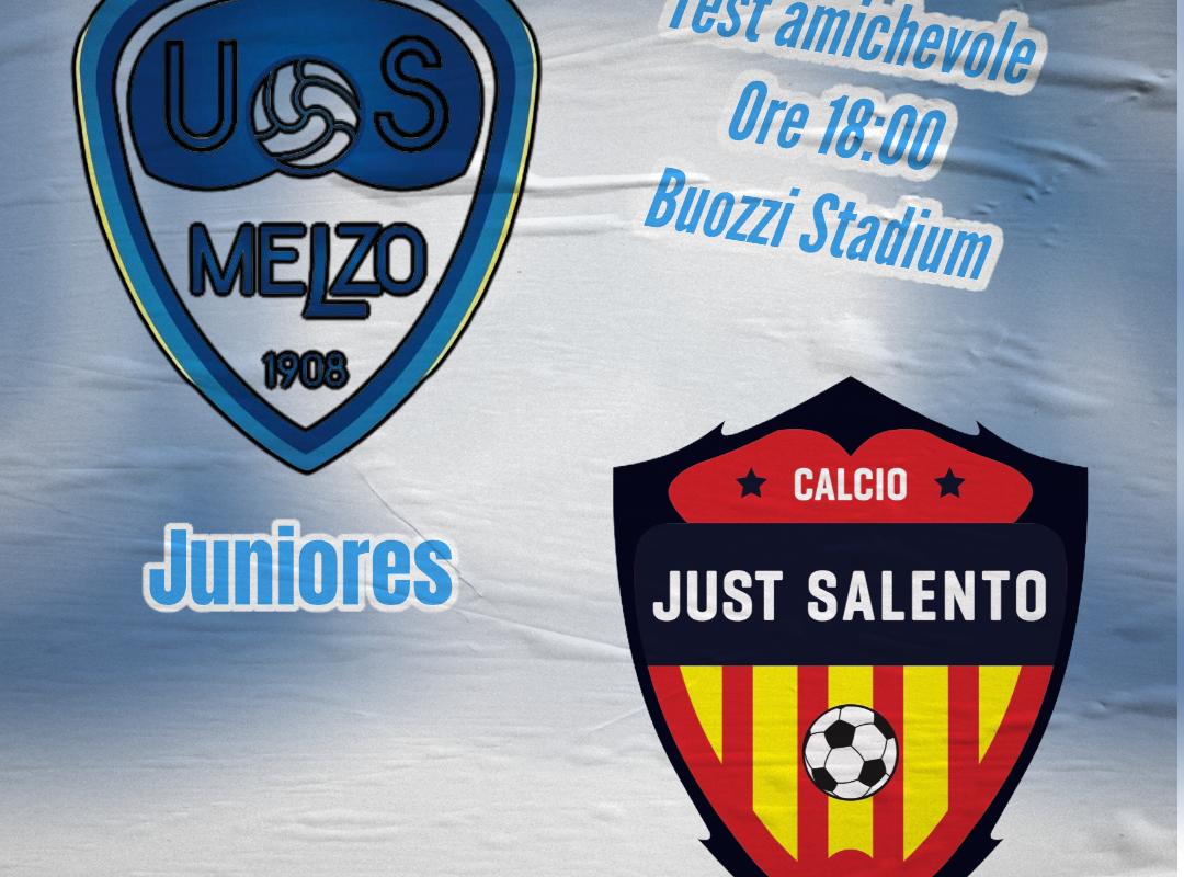 """Juniores: domani amichevole al """"Buozzi Stadium"""""""
