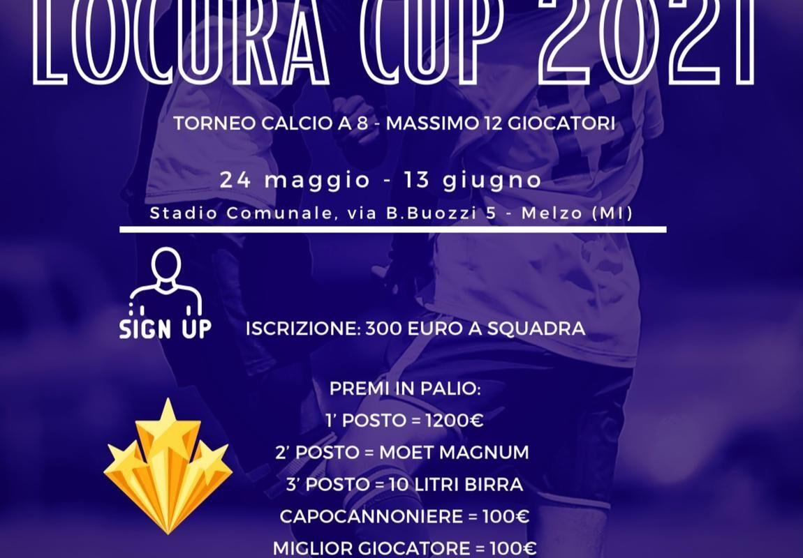 Locura Cup in arrivo a Melzo
